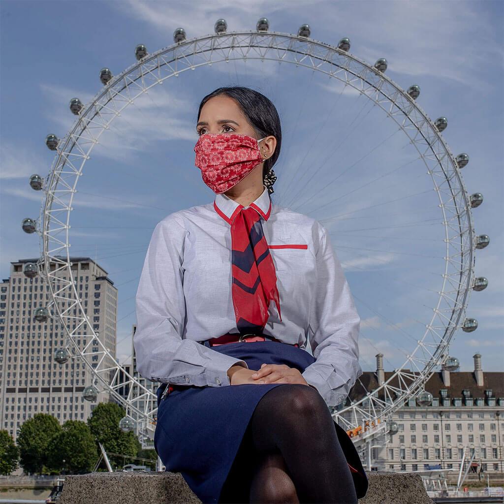 Face Mask - LNER London Design 1