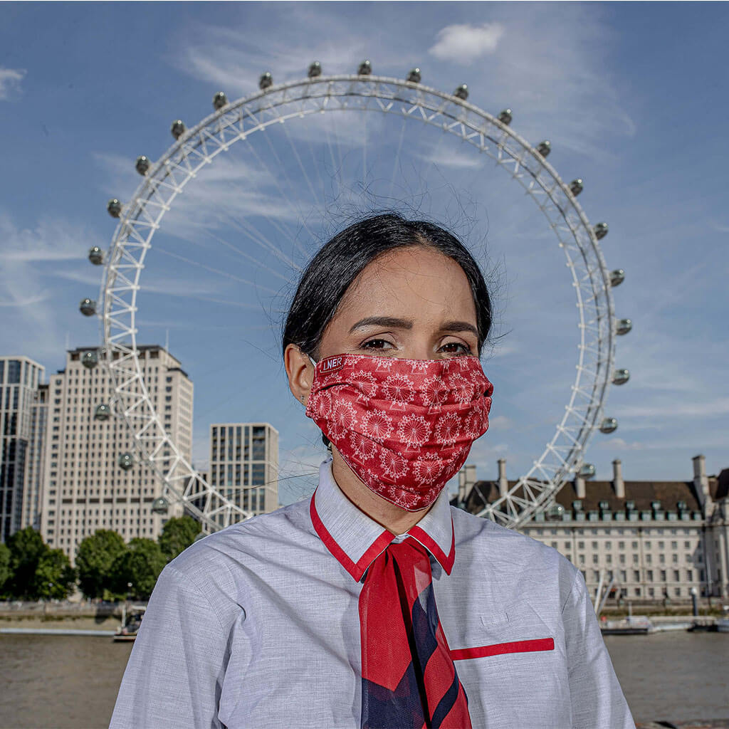 Face Mask - LNER London Design
