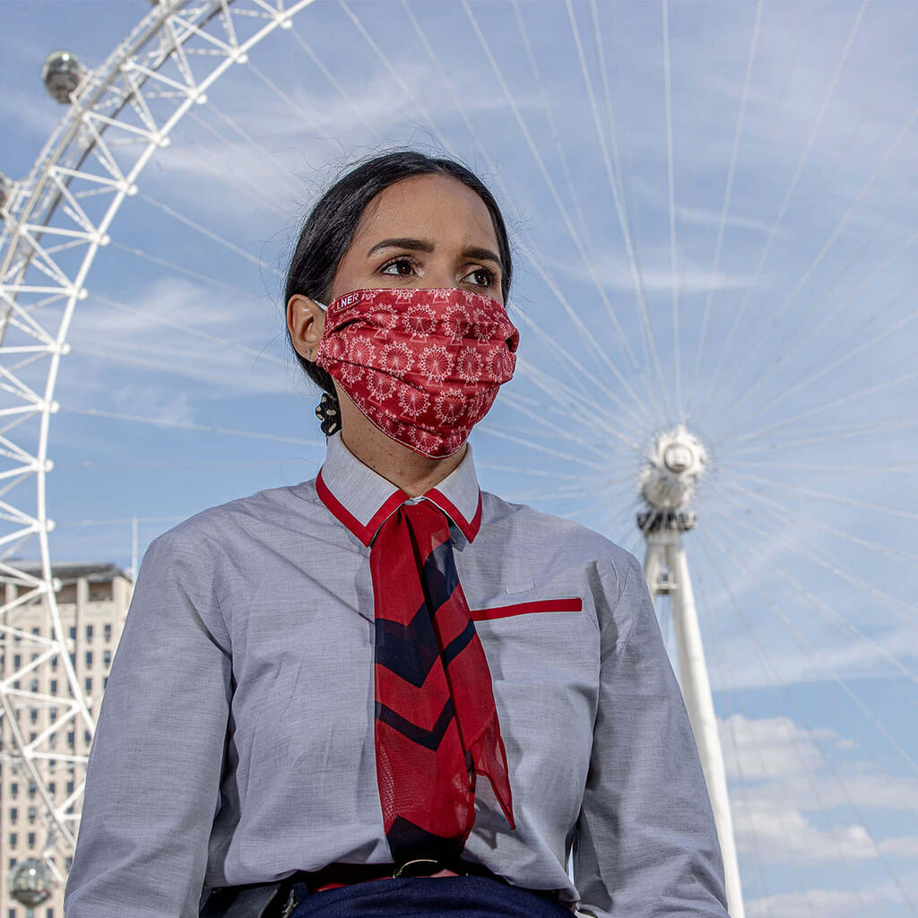 Face Mask - LNER London Design 4