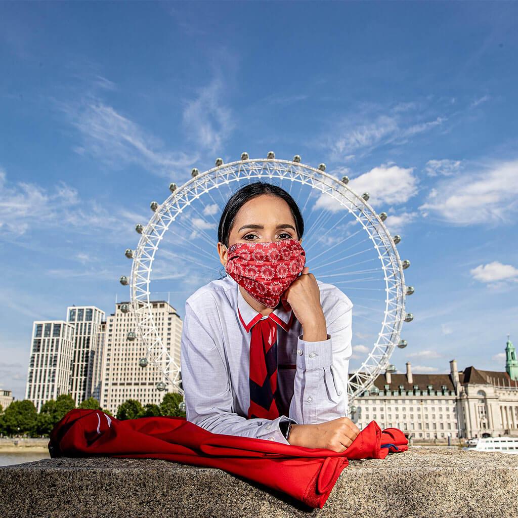 Face Mask - LNER London Design 3