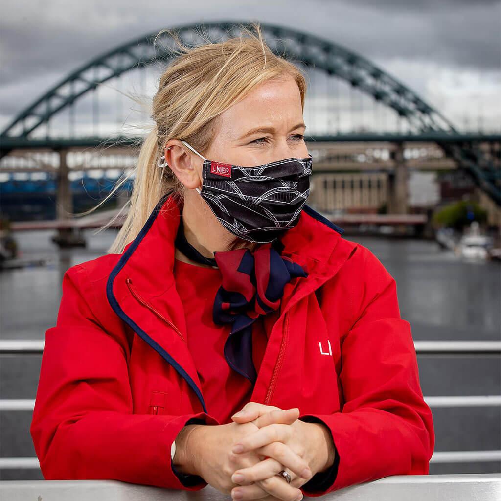 Face Mask - LNER Newcastle Design 3