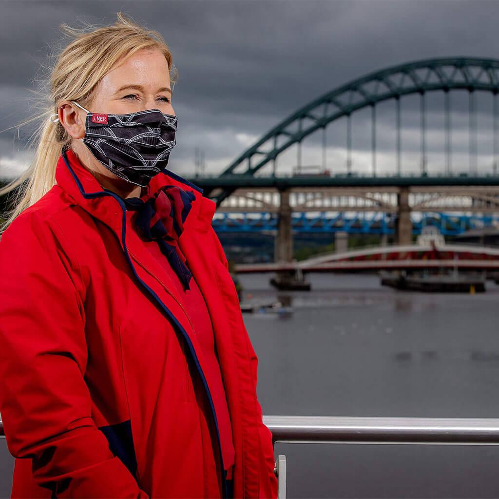 Face Mask - LNER Newcastle Design 2