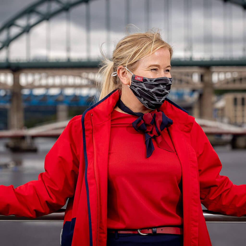 Face Mask - LNER Newcastle Design 1