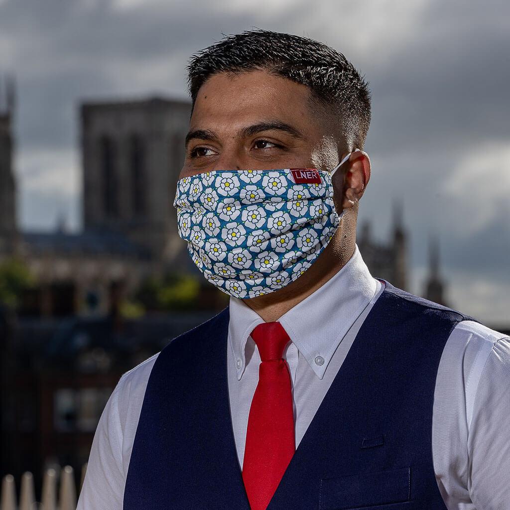 Face Mask - LNER Yorkshire Design