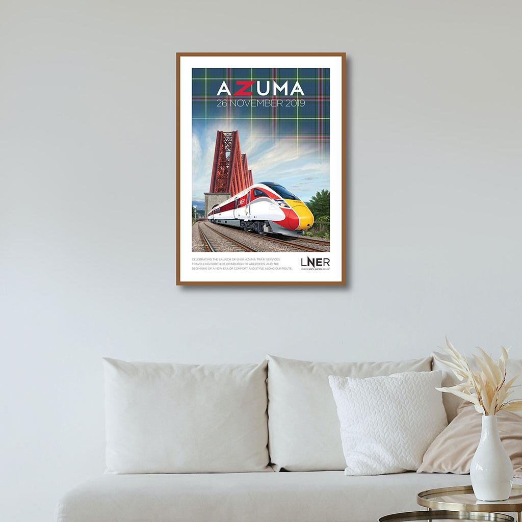 LNER Azuma Launch Poster – Aberdeen launch, 26 November 2019 1