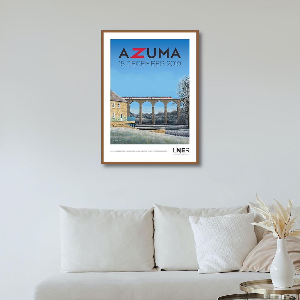 LNER Azuma Launch Poster – Harrogate launch, 15 December 2019 1