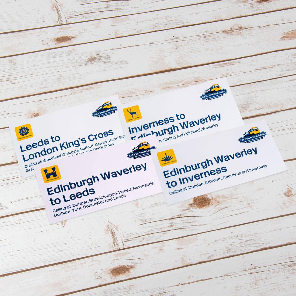 Train Destination Labels